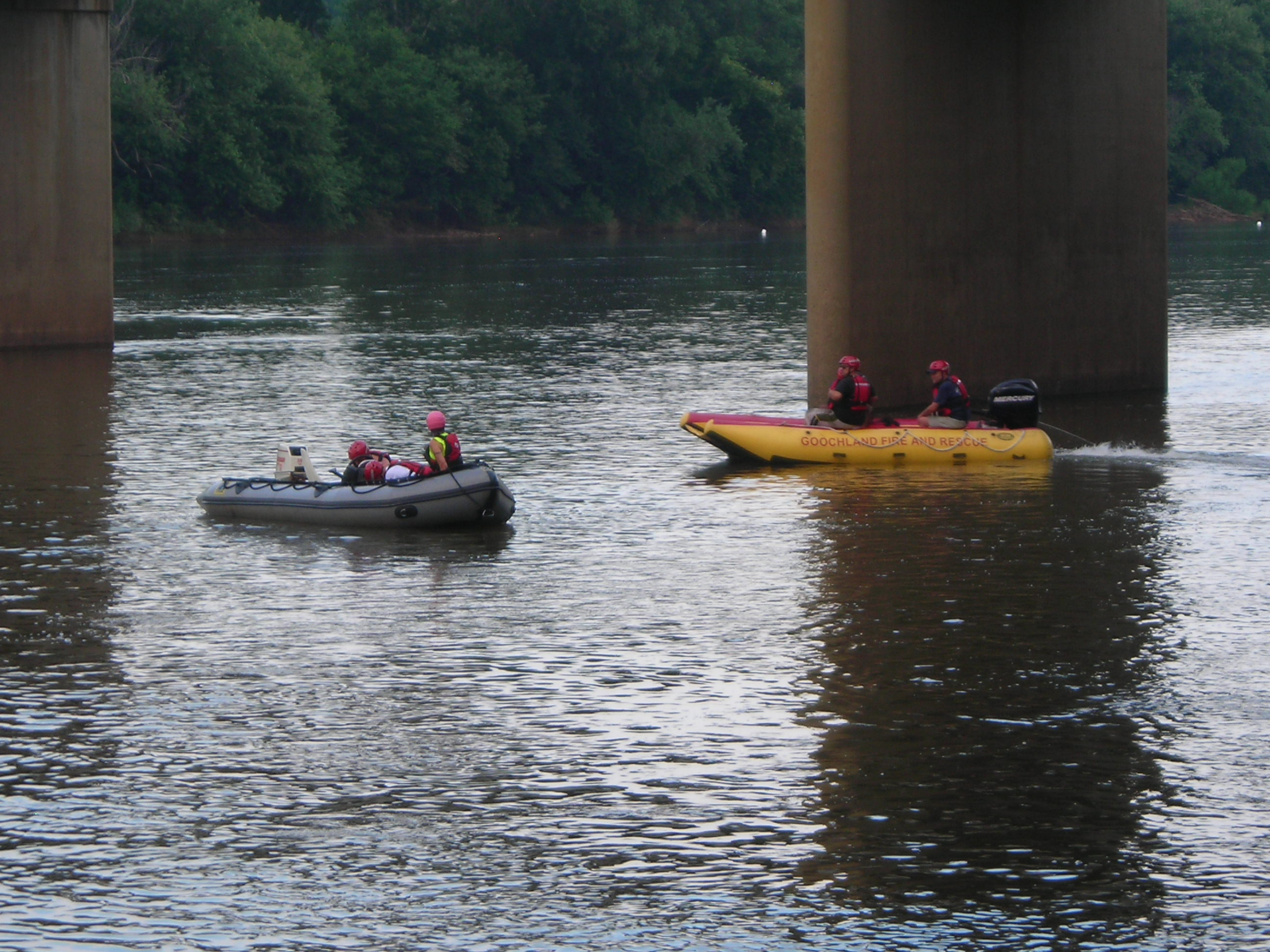 Fire-Rescue boats