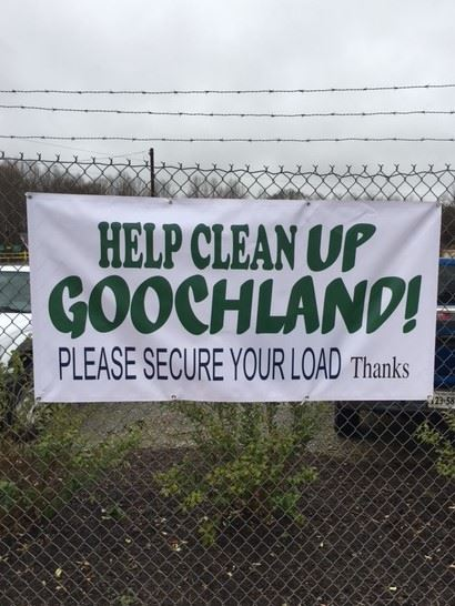 Goochland-Cover Your Load Sign