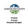 FY 2018 County Adopted Budget