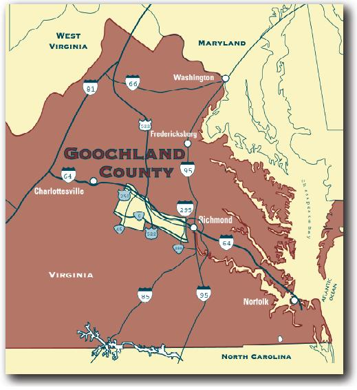 Goochland County Map