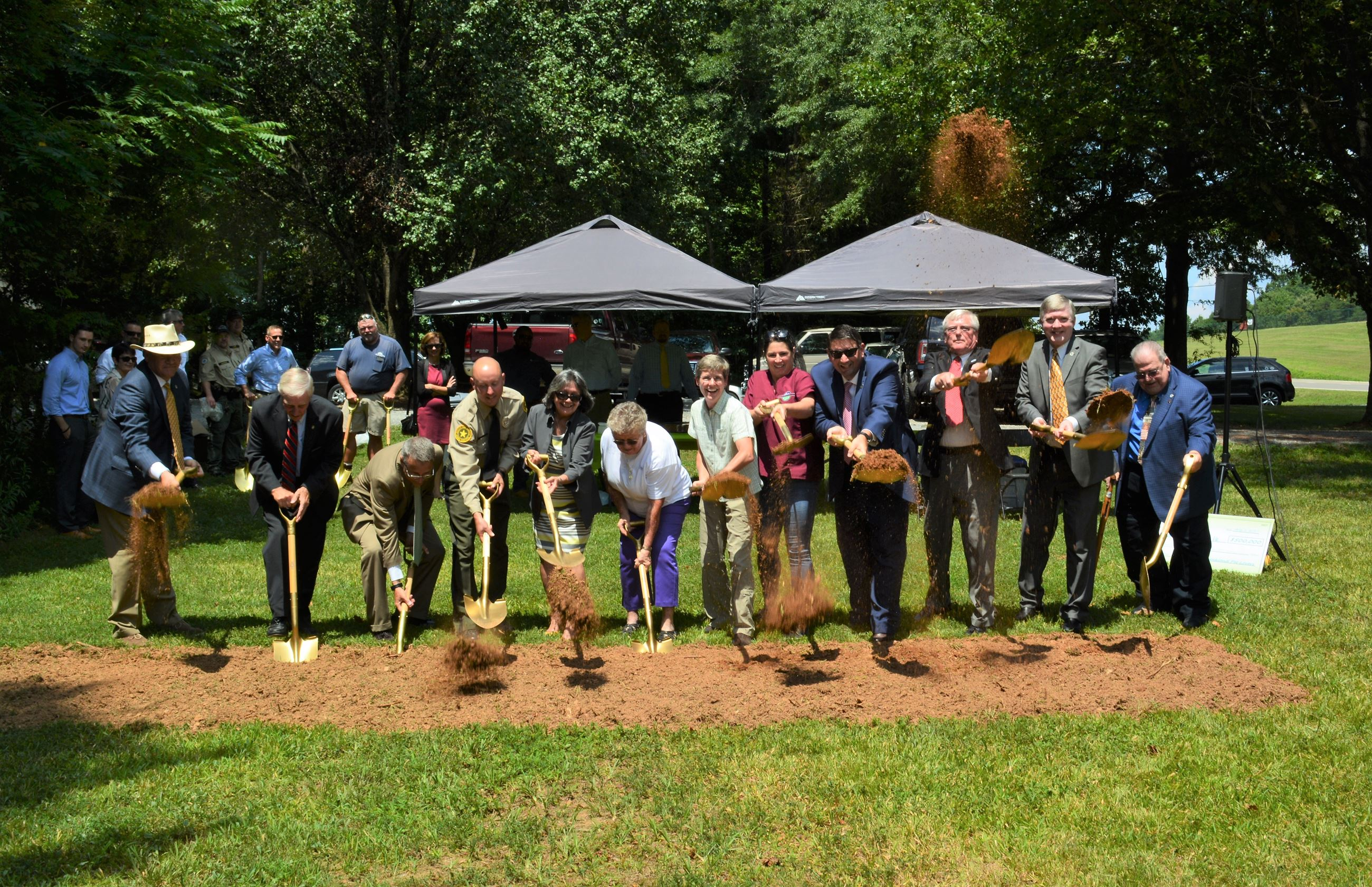 Goochland County - Animal Shelter Ground Breaking 8-1-17 DSC_0095c