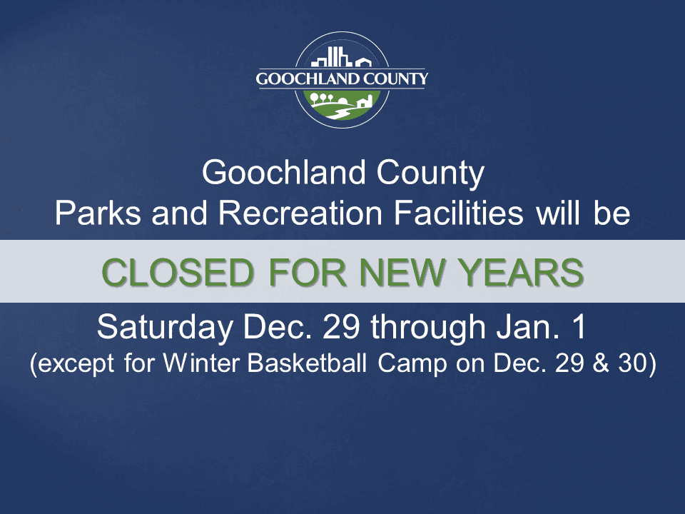 Goochland County - Parks and Recreation - New Years 2019