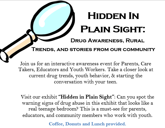 RSAAC - Hidden In Plain Sight - January 30 2019 Mini-Flyer