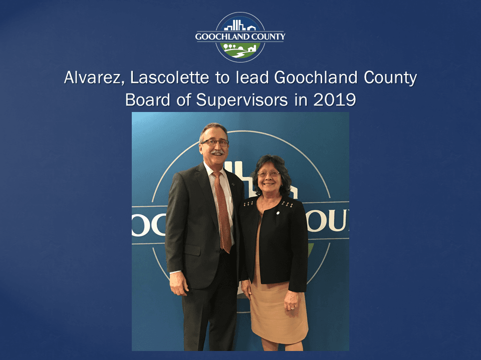 Goochland County - Alvarez Lascolette to lead in 2019