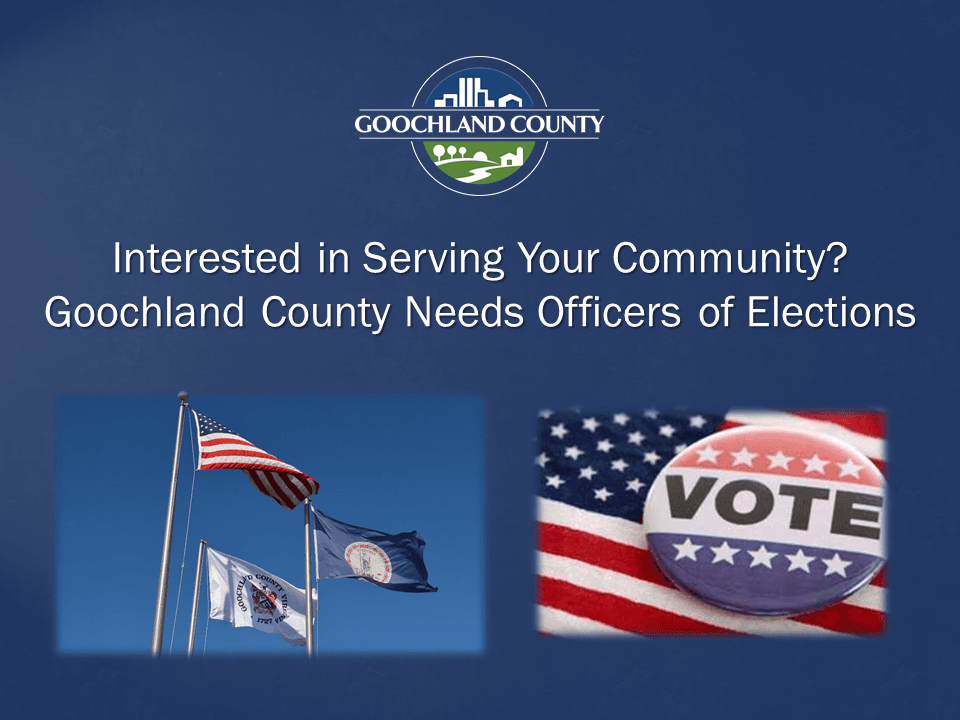 Goochland County - Election Officers