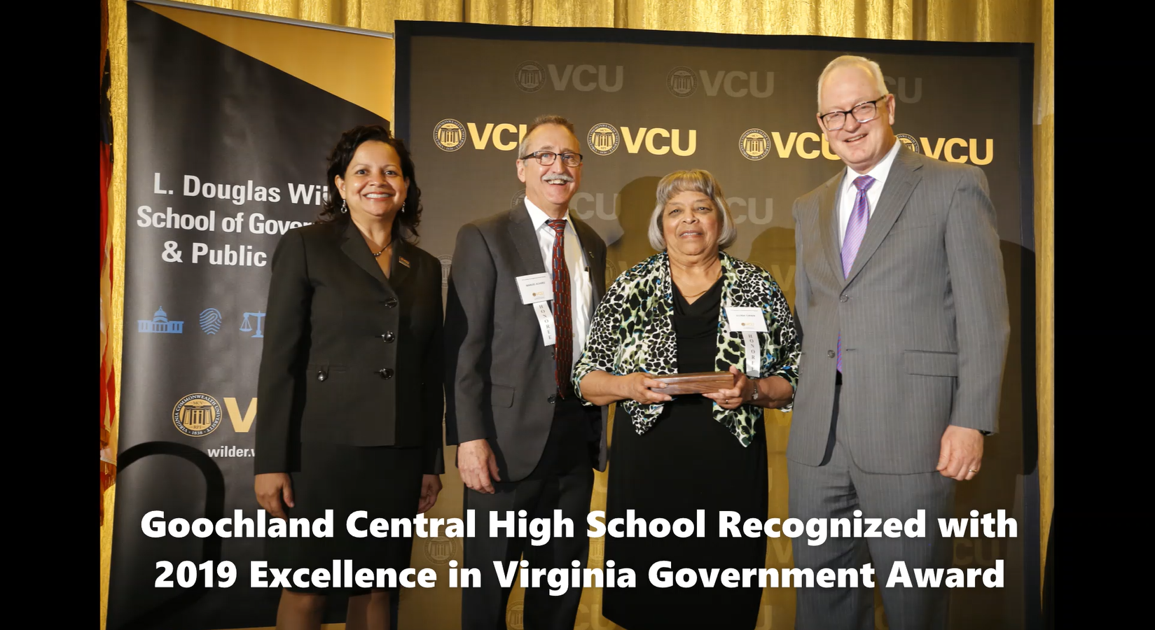 EVGA Community Enhancement Award - Goochland Central High School