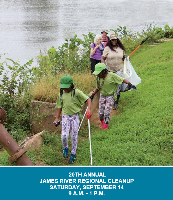 James River Clean Up - September 14 2019