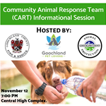 Community Animal Response Team (CART) Informational Session_photo only