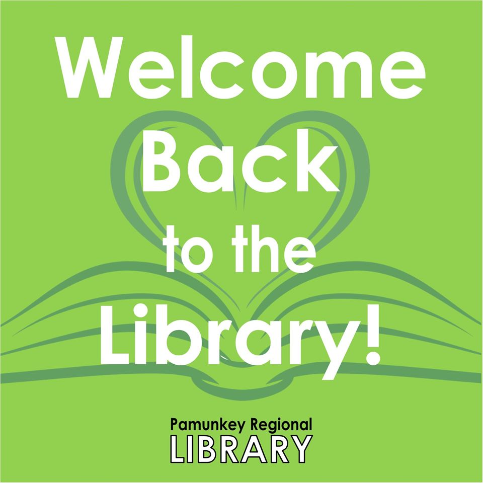 Welcome Back to the Library - Pamunkey Regional