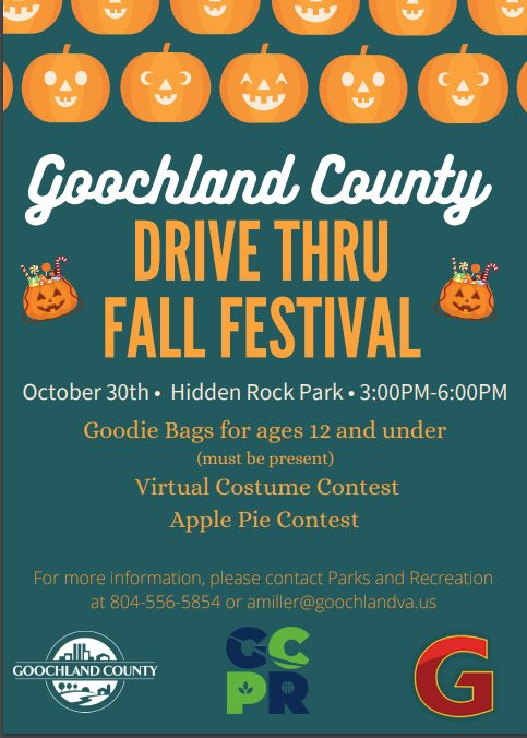 Goochland Fall Festival - Hidden Rock Park - October 30 2020