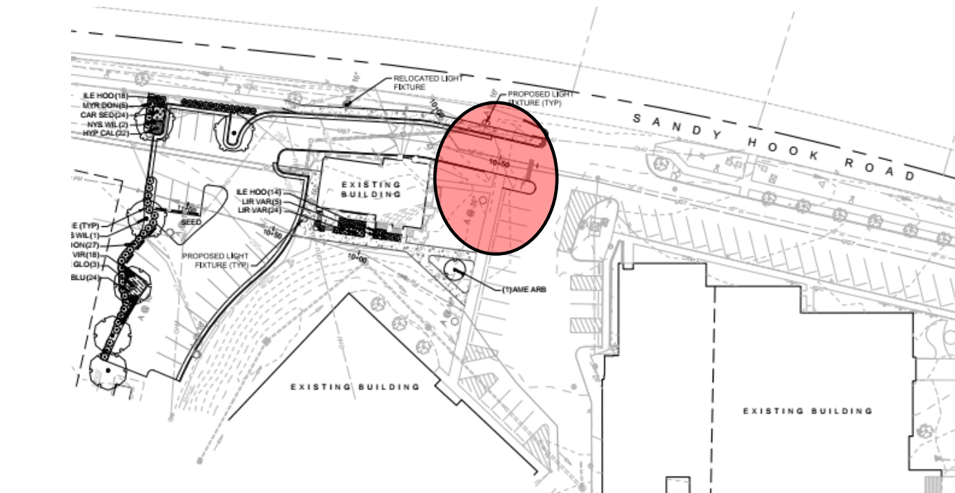 Administration Building Parking - Phase 2 - Layout