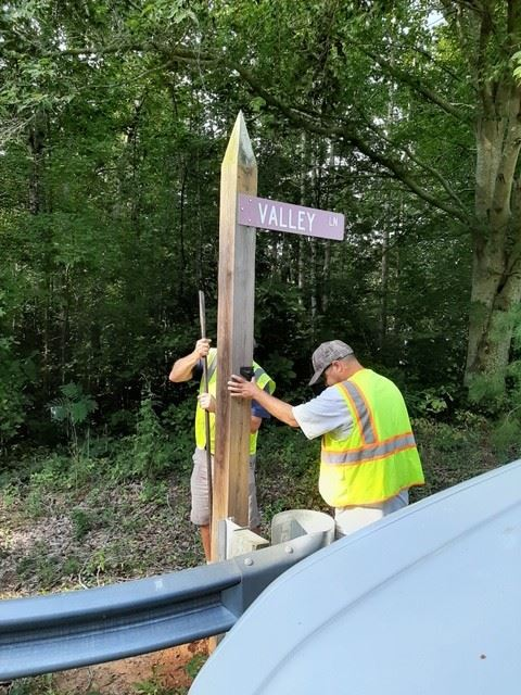 Goochland - Private Street Sign Replacement Project - 0001